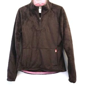 The North Face Fleece Half-Sip Pullover Size Small
